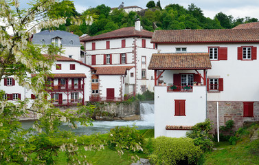 Basque town in the French Pyrenees
