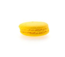 Macaron isolated on white