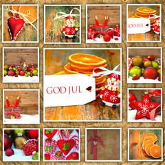 Collage - Weihnachtsmotive