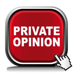 PRIVATE OPINION ICON