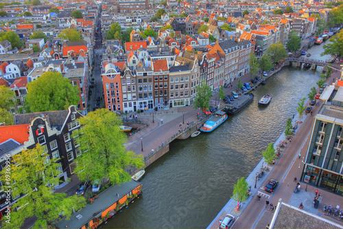 Foto op Canvas Amsterdam Amsterdam, Netherlands, Europe