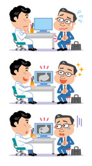 胃痛 男性患者 医師