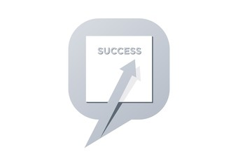 success,speech,arrow,logo,finance,template,communication,vector