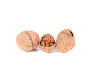 Closeup of walnuts.