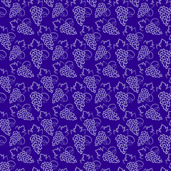 grapes pattern