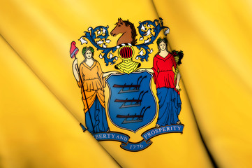 Flag of New Jersey (USA)