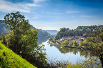 Danube valley Linz