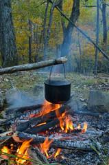 Bonfire and pot 5