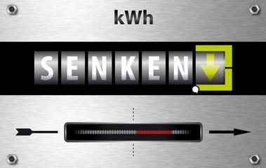 Stromverbrauch und Stromkosten senken