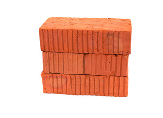 Bricks On White
