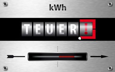 Strom wird immer teurer!