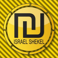 construction Israel Shekel sign