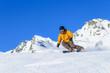 Skispass auf der Piste