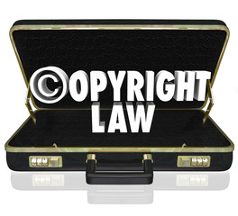 Copyright Law Legal Court Case Attorney Lawyer Suit C Symbol
