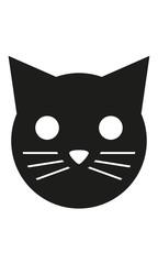 Katze Kopf Frontal