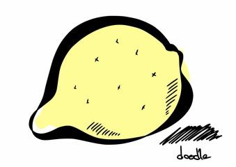 doodle lemon