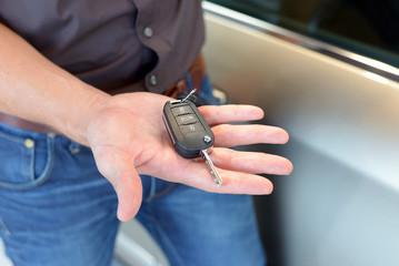 Autoschlüssel für Neuwagen // car key