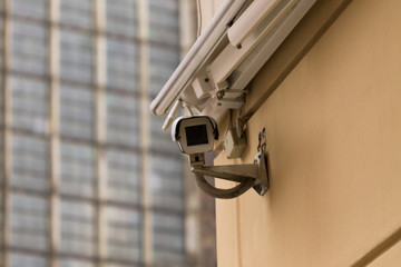 City monitoring system camera