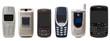vecchi cellulari collage - 69377756