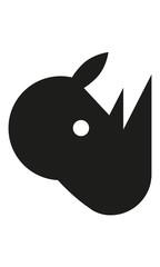Nashorn Kopf Profil
