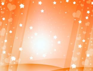 Orange lovely background