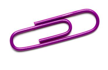 Purple Paperclip