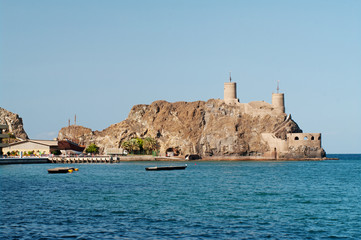 Fort  in Muscat, Oman