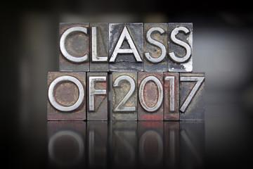 Class of 2017 Letterpress