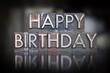 Happy Birthday Letterpress - 69380311