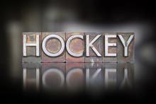 Hockey Typographie