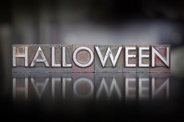 Halloween Letterpress