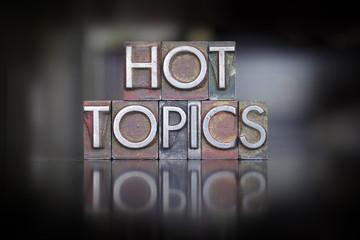 Hot Topics Letterpress