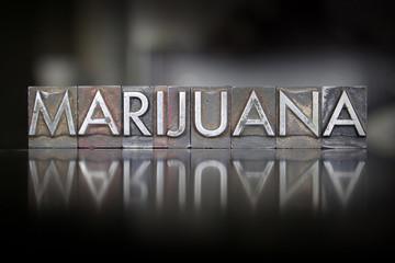Marijuana Letterpress