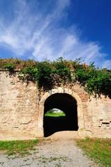 Ruin bricks fortress