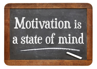 motivation is a state of mind