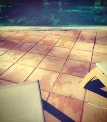 relax en la piscina