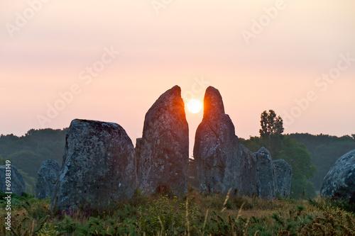 Leinwanddruck Bild Frankreich - 023 - Carnac