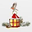 cartolina natalizia - 69383531