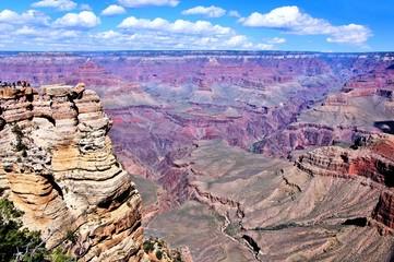 View over the Grand Canyon, Arizona, USA
