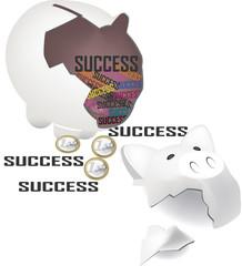 salvadanaio di successo
