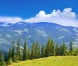 Nice mountain scene