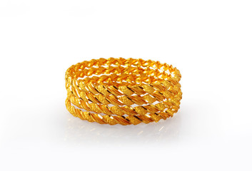 Indian Traditional Gold Bangles