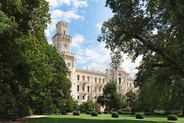 Hluboka Castle in Czech Republic.