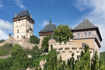 Royal castle Karlstejn, Czech Republic