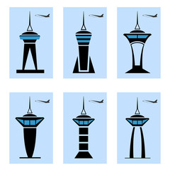 Control tower icons