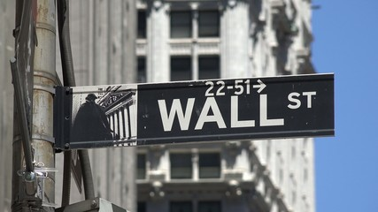 Wall Street, Finance, Manhattan, New York City