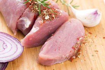 Fillet of pork