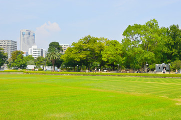 Peace Memorial Park and memorial hall, Hiroshima