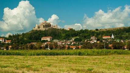 Medieval fortress of Rupea, Brasov, Transylvania, Romania