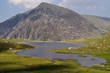canvas print picture - Llyn Idwal